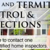 PEST AND TERMITE INSPECTOR